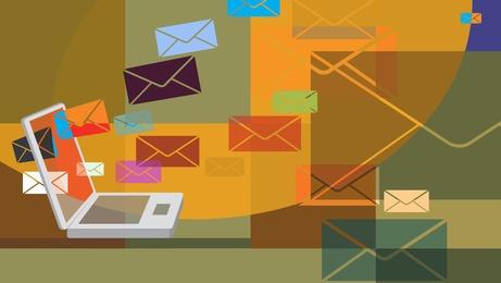 saapuva tieto sähköpostissa