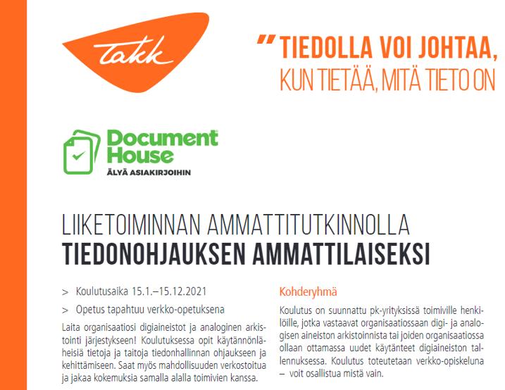 TAKK ja document house
